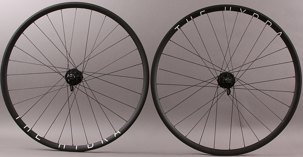 H Plus Son Hydra Road CX Disc Wheels SRAM 900 Hubs 28h QR/Thru