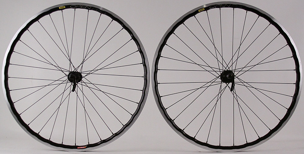 Mavic Open Pro UST Tubeless Black Rims 5800 Hubs Road Wheelset
