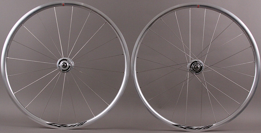 Velocity Quill Polished DT 370 Track Hubs Wheelset fx/fx 20/24h