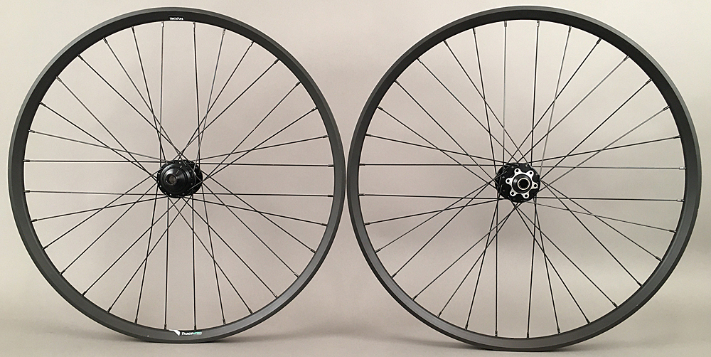 "Ryde Trace 27.5"" 650b Mountain Bike Wheelset 6 Bolt Disc Boost"