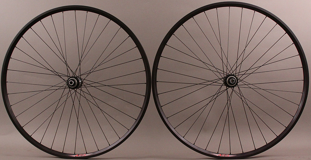 Velocity A23 11sp Gravel 12m Thru Wheels Shimano CL Disc