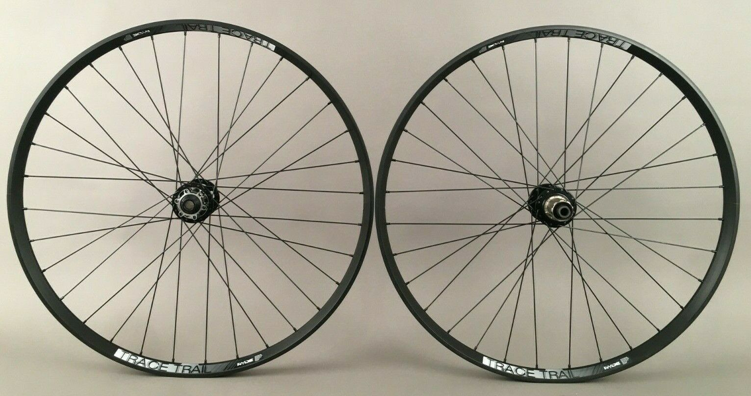 "Ryde Trace Trail 25 Rims 27.5"" 650b MTB Bike Wheelset Tubeless"