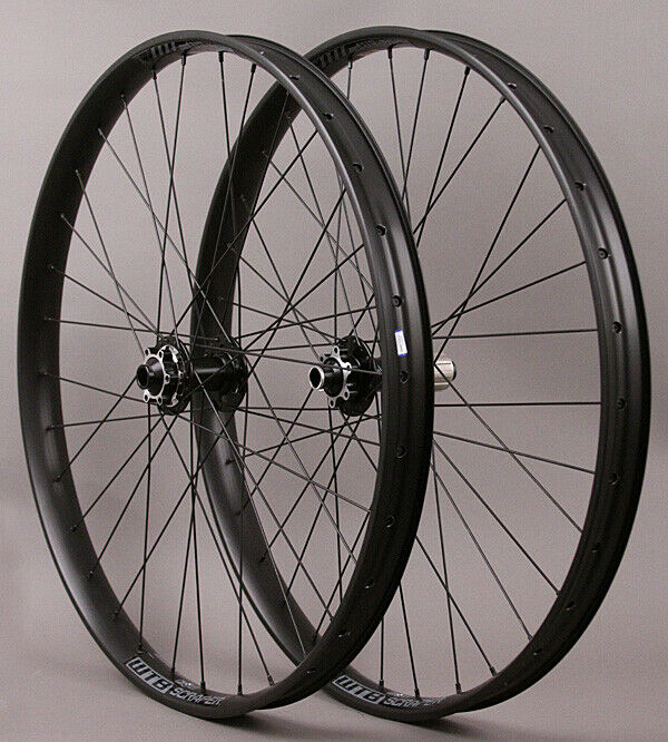 "WTB Scraper i40 26"" MTB Mountain Bike Wheelset 6 bolt disc 15mm"