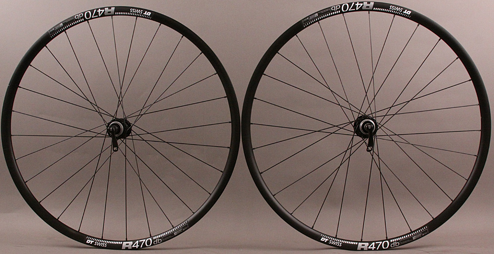 DT R 470 Road Disc 11sp Gravel QR Wheels Origin8 Hubs CL Disc