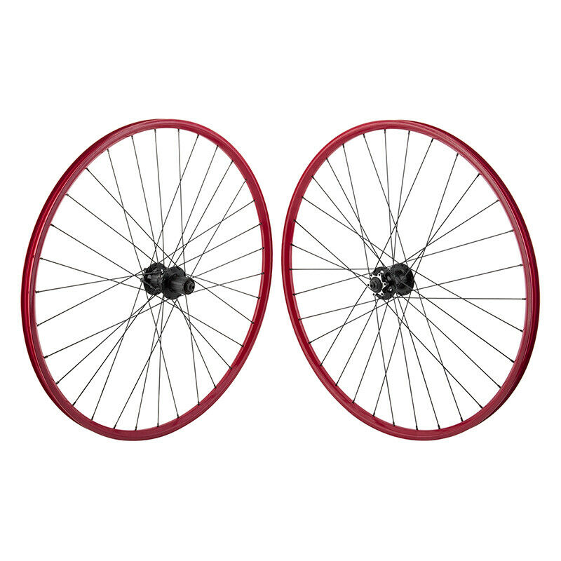 WTB Speed Disc RED 29er MTB Mountain CX Gravel Bike Wheelset 32h