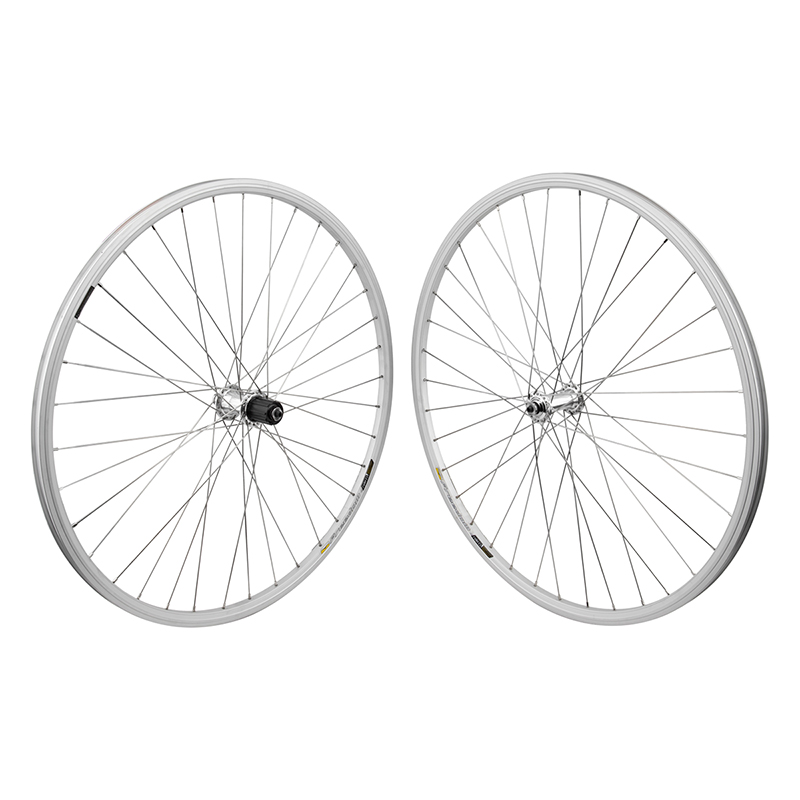 WTB Racine Elite Rims Road Bike Wheelset 8 9 10 speed Silver 36h