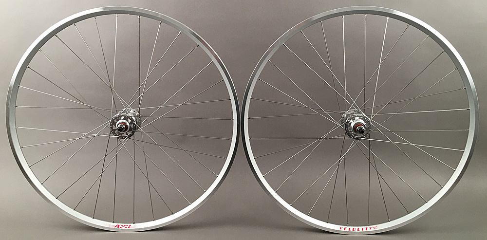 Velocity A23 Track Bike Fixed Gear Singlespeed Wheels Silver