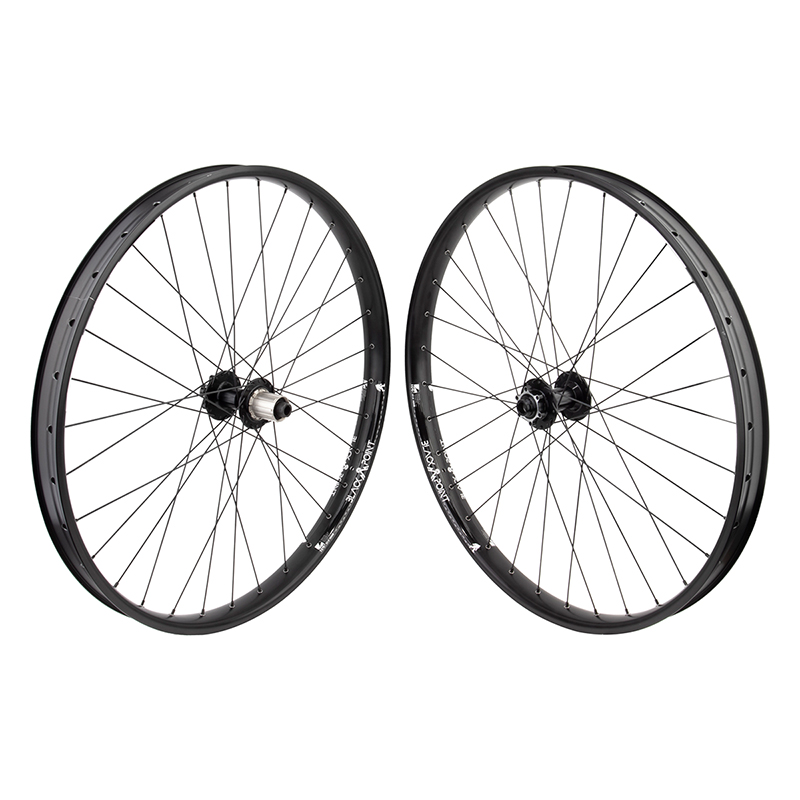 "BlackPoint I40 27.5"" Mid Fat MTB Bike Wheels BOOST SPACING"