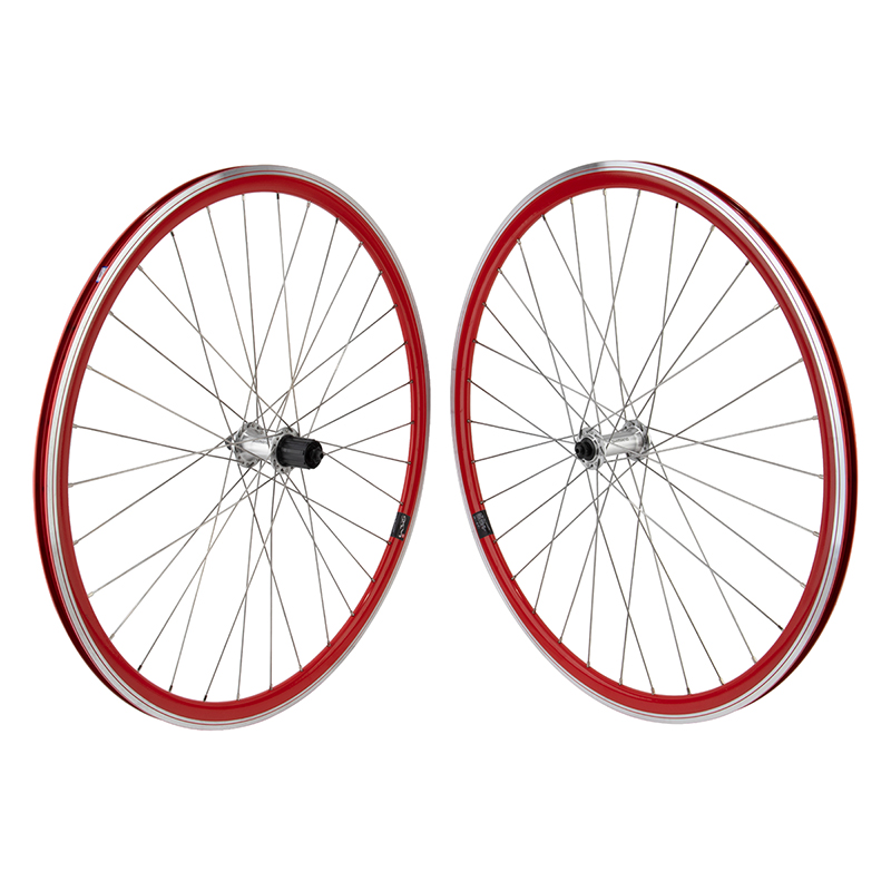 Mach1 430 Road Bike Wheelset 32h 8-10 Speed Shimano RED