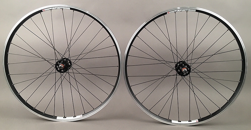 Mach1 240 Rims Black Fixed Gear Track Singlespeed Wheelset