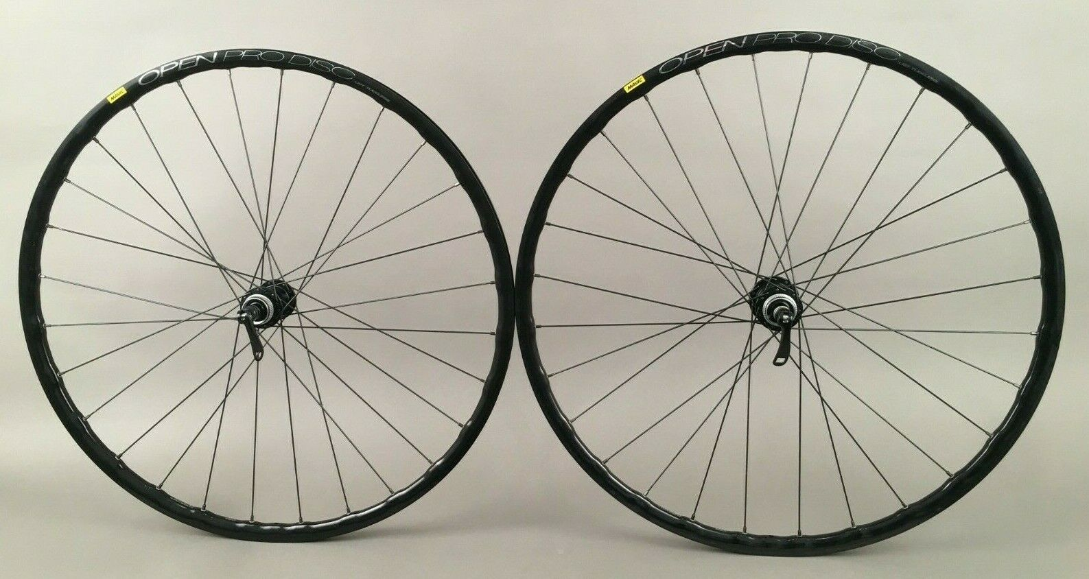 Mavic Open Pro UST 11 Speed Gravel Wheels Shimano CL Disc QR