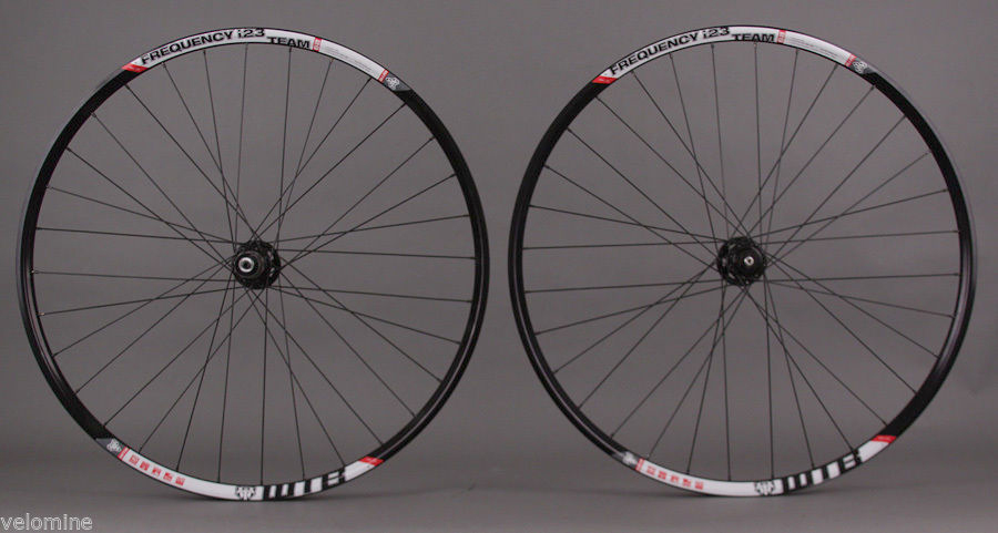 WTB FREQUENCY I23 29er Tubeless MTB Wheelset SRAM X9 Black Hub 6