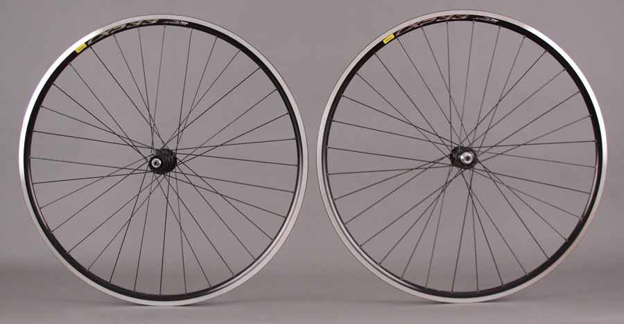 Mavic CXP33 32 Hole Black Rims Shimano 105 5700 Hubs Wheelset