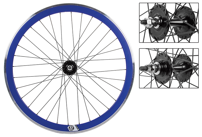 BLue Origin8 32h Track Bike Fixed Gear Aero Wheelset 42mm FX/FW