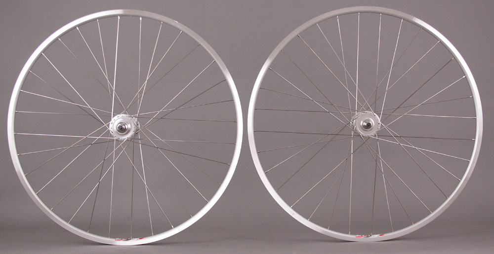 Weinmann LP18 Silver Track Wheels Fixed Gear Wheelset 32h