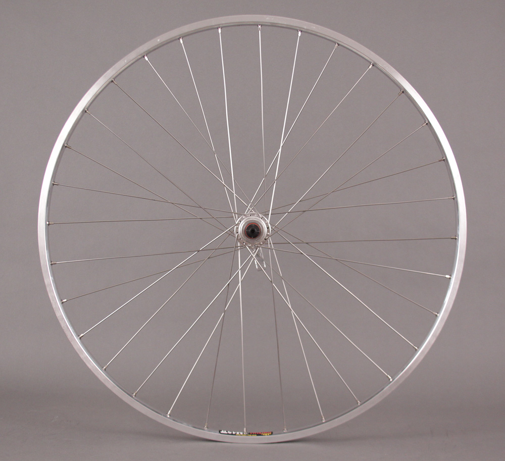 Sun M13 REAR 27 inch silver 5,6,7 speed freewheel hubs wheel 32h