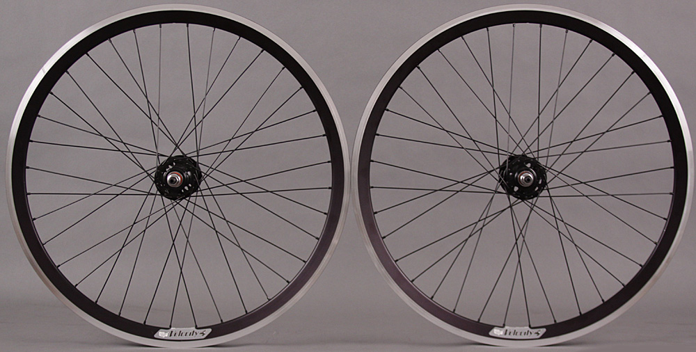 "Velocity Chukker 36h 26"" Fixed Gear Polo Freestyle Bike Wheels"