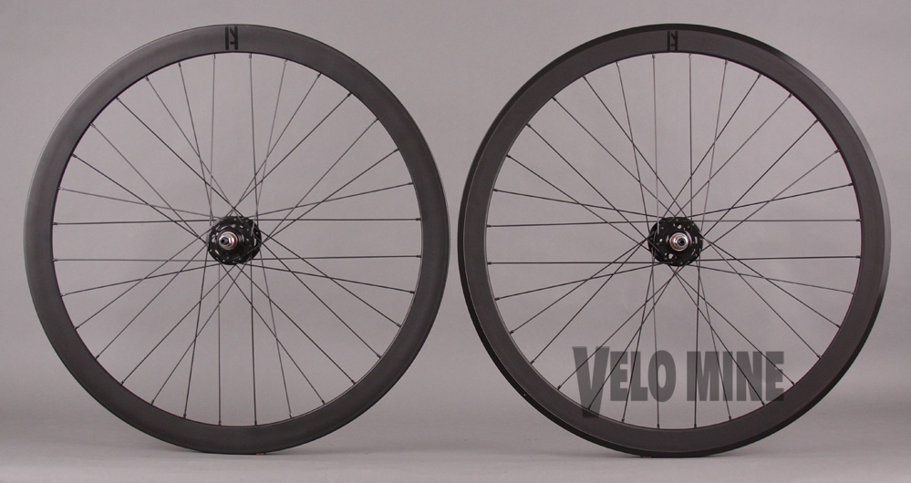 H Plus + Son SL42 front - Formation Face Rear Wheelset fx/fx