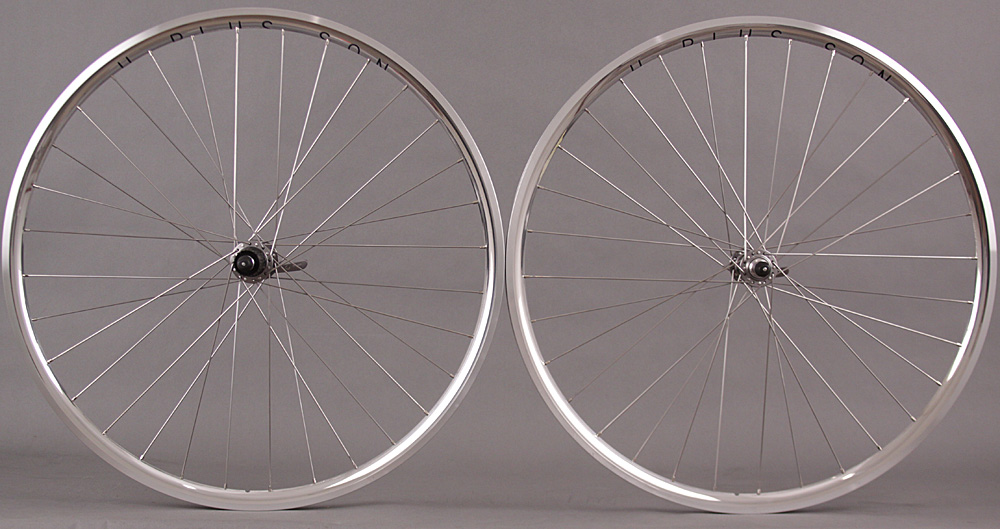 H Plus Son Archetype Silver Wheelset Shimano R7000 105 Hubs