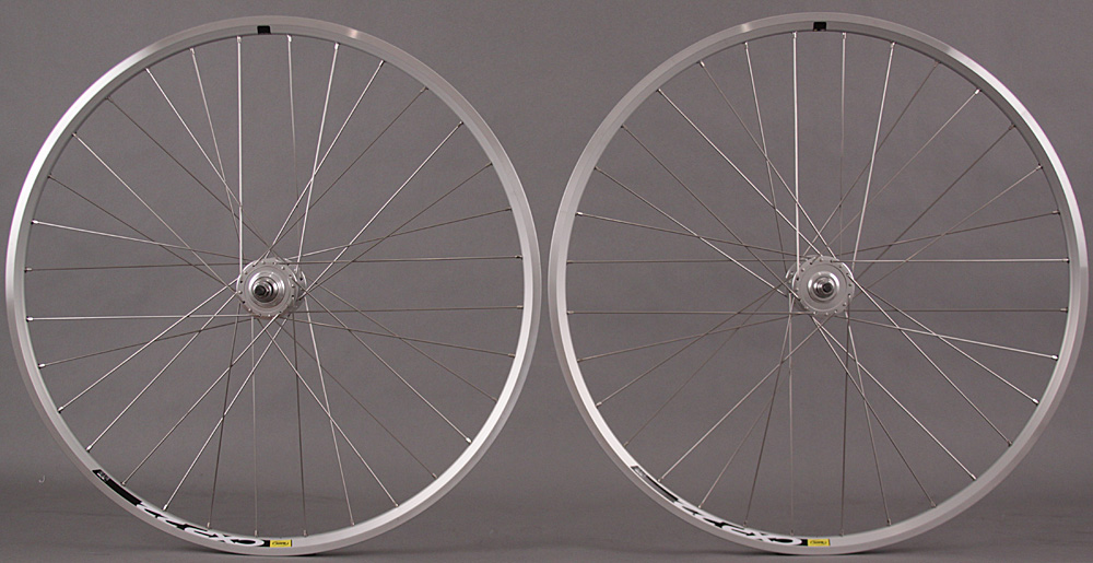 Mavic CXP Elite Silver 700c fixed gear wheelset Formula fx/fr