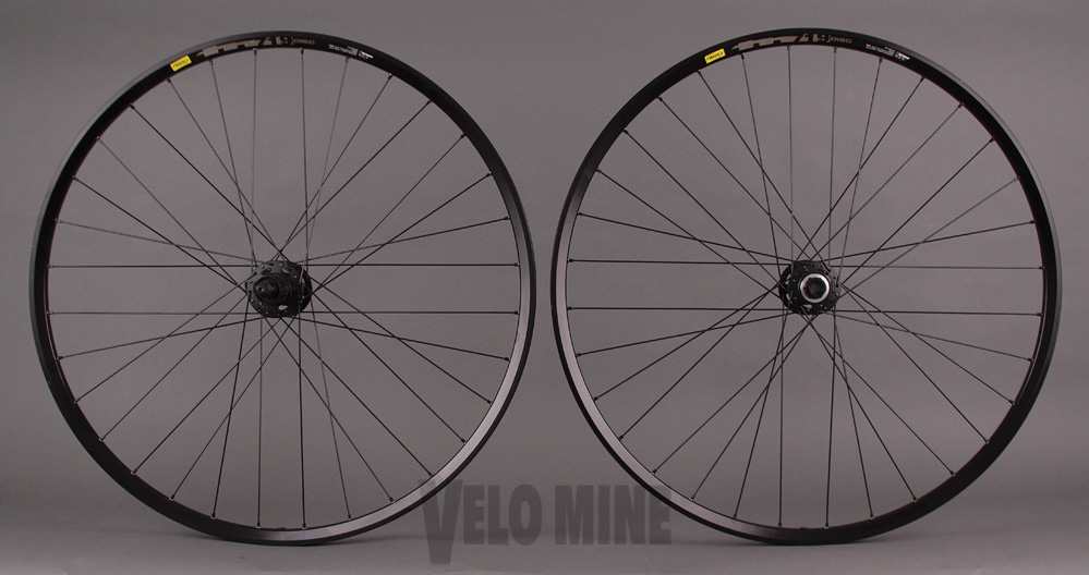 Mavic TN719 29er Wheelset Deore XT QR Rear - 15mm Thru Front