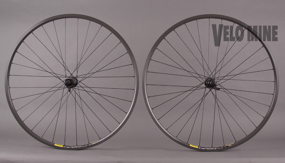 Mavic Open Pro CD Rims Road Bike Wheelset DT Swiss 370 Hubs 32h