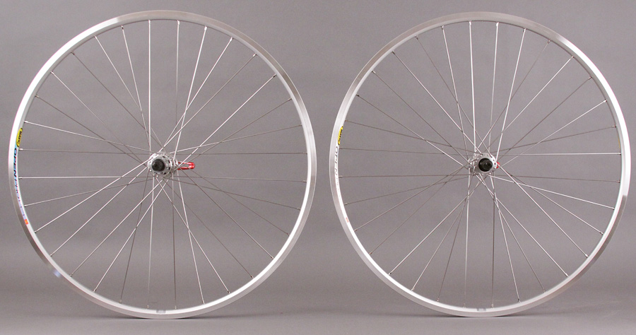 Mavic Open Pro Miche Campagnolo hubs 32h 9 10 11 speed wheelset
