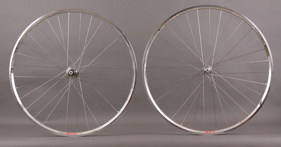 Velocity A23 rims White Industries T11 hubs Road or CX wheelset