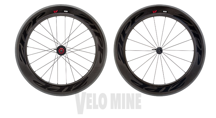 2015 Zipp 808 Black Firecrest Carbon Clincher Wheel 1795g 11 S