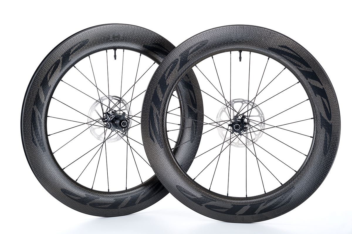 2018 Zipp 404 Firecrest Carbon Clincher Disc Tubeless Wheelset
