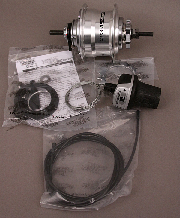 Sturmey Archer 5 Speed Disc Brake Hub 36H RX-RK5