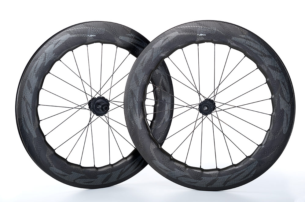 2018 Zipp 858 NSW Carbon Clincher Disc Road Bike Wheelset 1834g