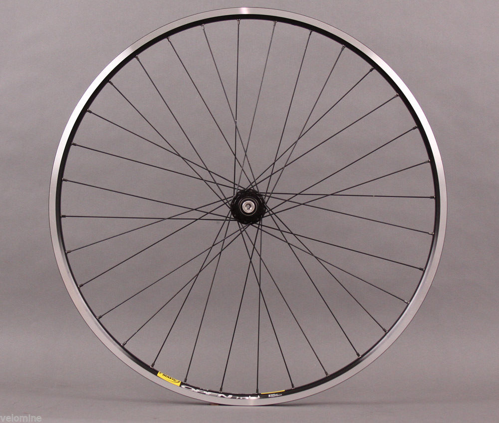 White Industries Eno hub Mavic Open Pro Rear Wheel Black
