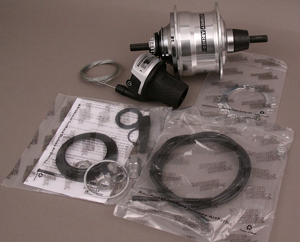 Sturmey Archer 5 Speed NO Brake Hub 36H Rx-Rf5