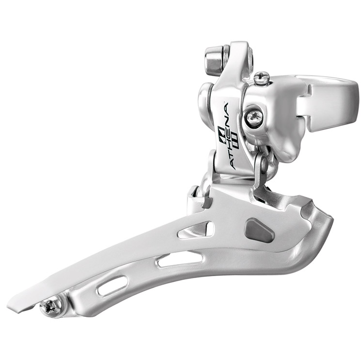 Campagnolo Athena Silver Alloy Front Derailleur 35mm Clamp On