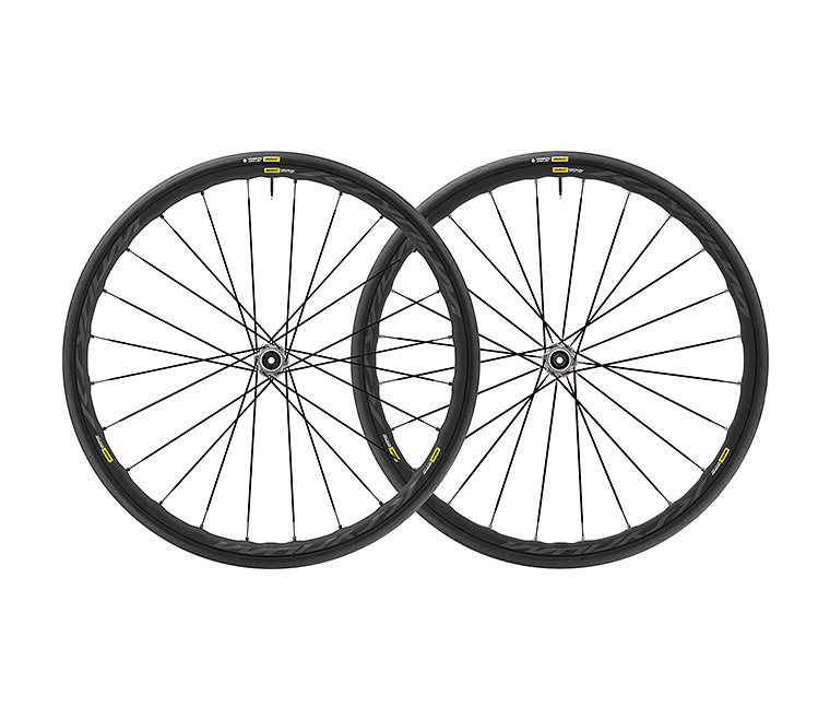 Mavic Ksyrium Elite CLD UST Grey Hub Road Demo Wheels Centerlock
