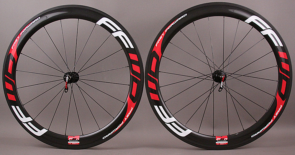 Fast Forward FFWD F6R DT 240 Hubs Road Bike Wheelset Tubular
