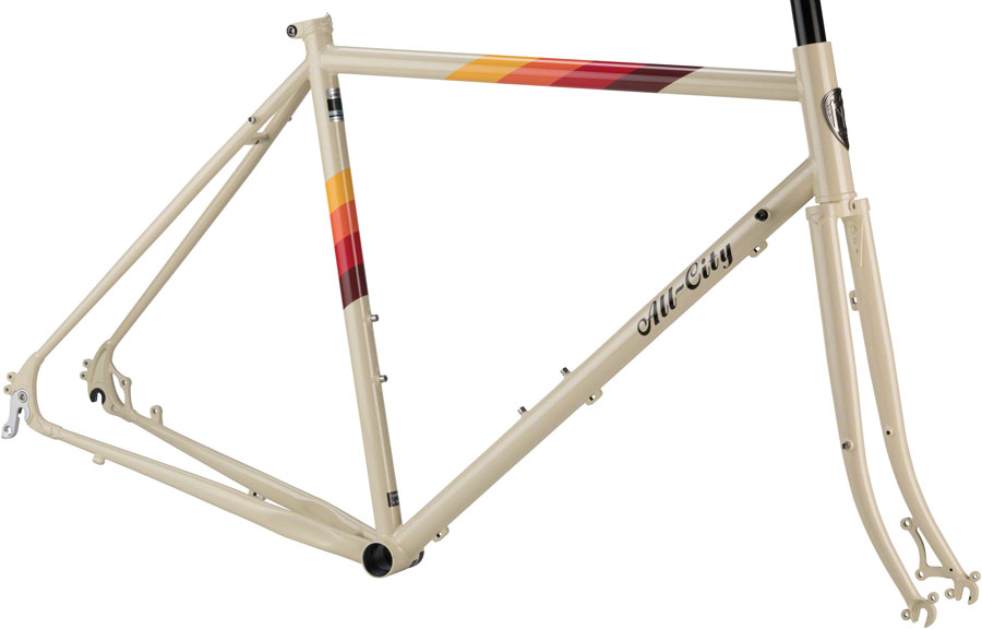 All-City Space Horse Disc Brake Frameset - 700c Steel Cream 46cm