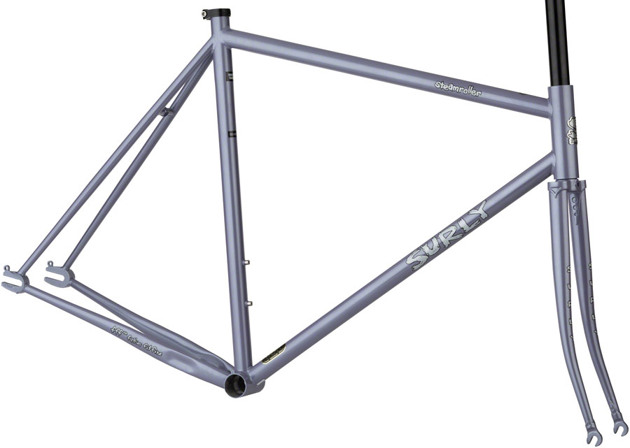 Surly Steamroller Track Messenger Frameset Metallic Lilac 49cm