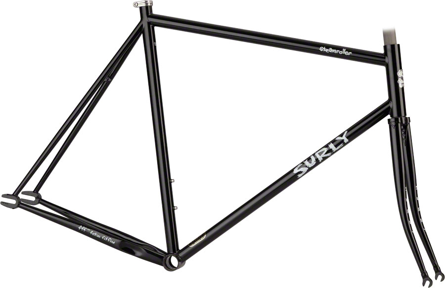 Surly Steamroller Track Messenger Steel Frameset Black 53cm