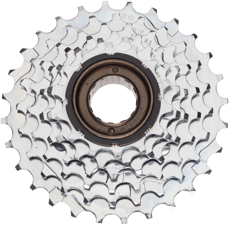Dimension 6-Speed 14-28t Freewheel, Brown and Black