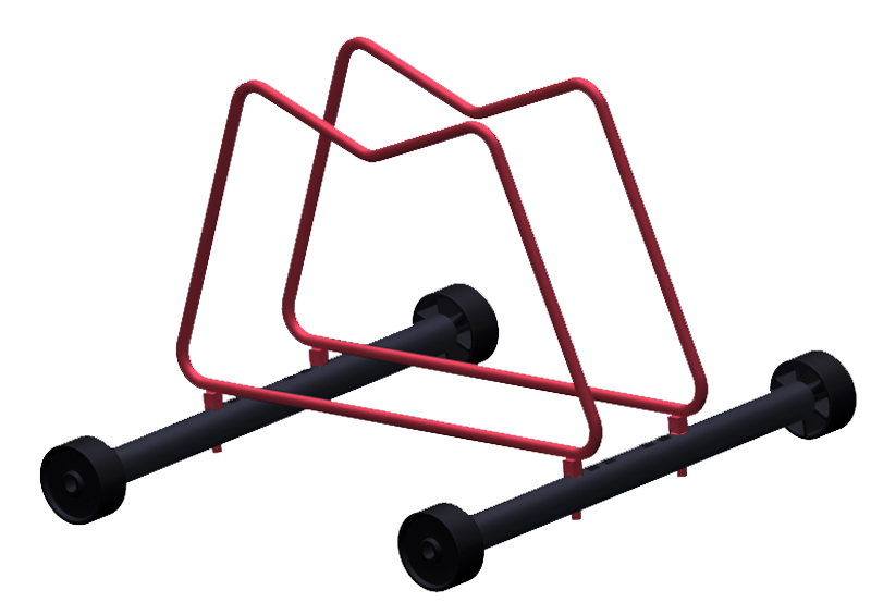 GEARUP Rack N Roll Bicycle Display Stand Fits All Tire Sizes