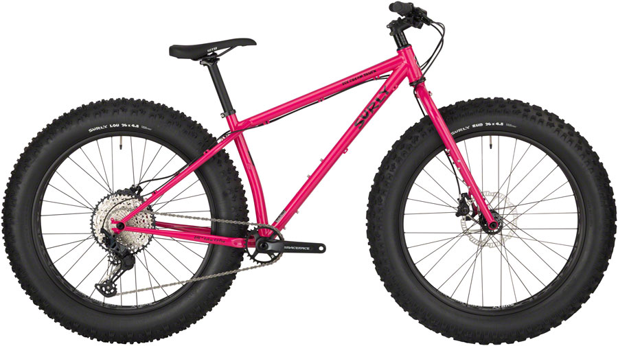 "Surly Ice Cream Truck Fat Bike 26"" Steel Prickly Pear Sparkle LG"