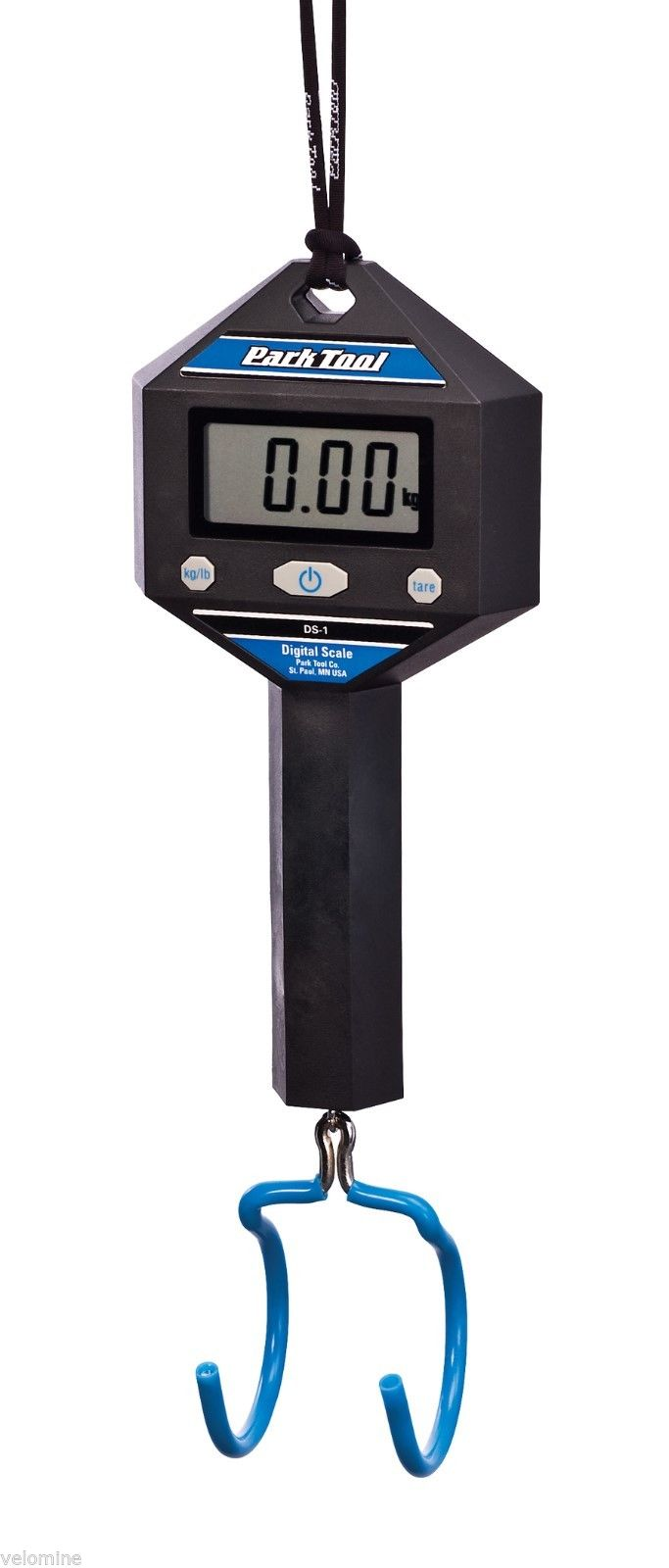 Park Tool DS-1 Digital Bicycle Scale - weigh your bike with ease