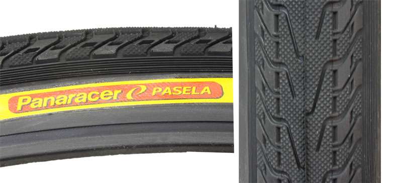 PAIR Panaracer Pasela 700 x 28 tires wire bead Black