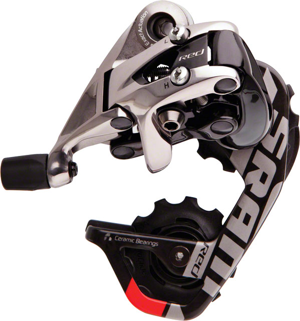 SRAM 2012+ Red 10 Speed Short Cage Rear Derailleur New