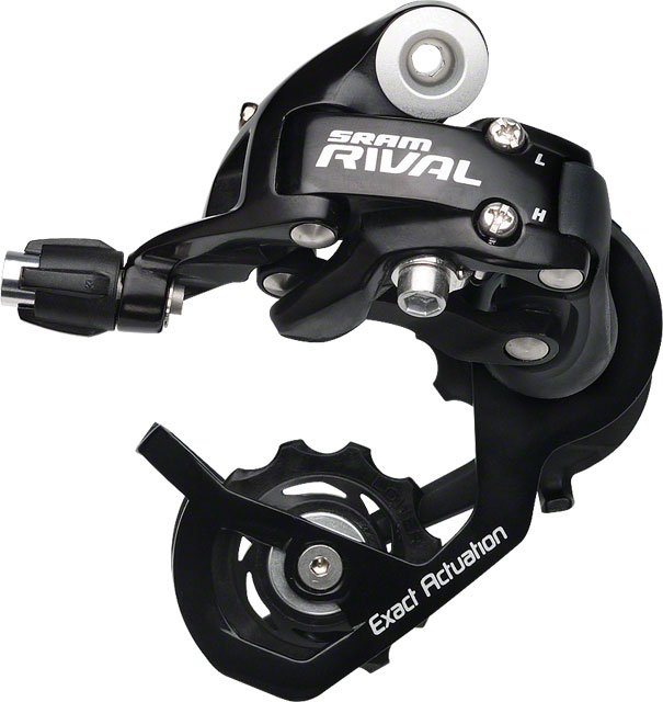 SRAM Rival Short Cage Rear Derailleur Black New