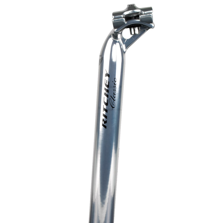 Ritchey Classic Silver Alloy Seatpost 27.2 350mm