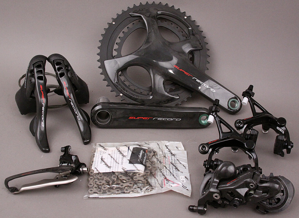 2018/19 Campagnolo Super Record 12 Speed 6 PC Group 175 Crankset