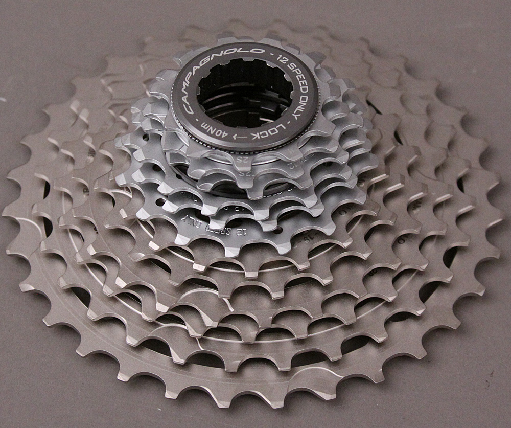 2020 Campagnolo Super Record 12 speed cassette 11-34 w/ lockring